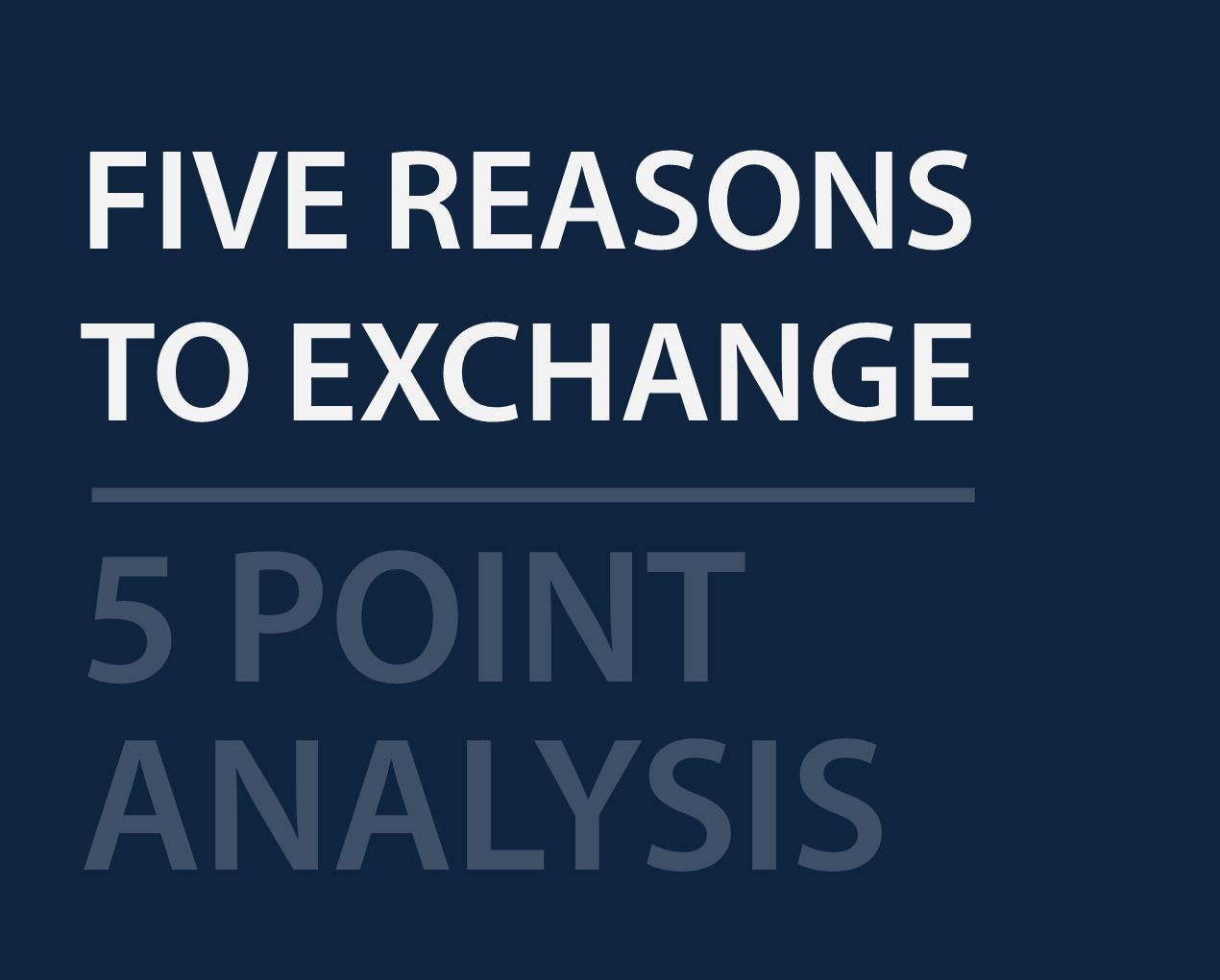 1031 exchanges essay Wk 7 discussion (section 1031 exchanges) – post 1  prime essay services , written from scratch, delivered on time, at affordable rates  get a quote.